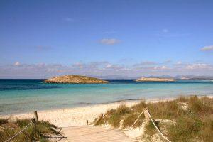 Playa-de-ses-Illetes,-Formentera,-Spanje
