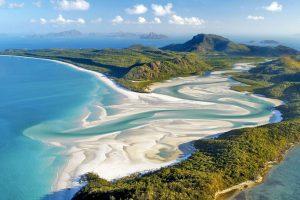Whitehaven-Beach,-Whitsunday-Island,-Australie