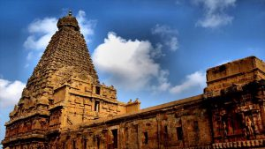 Brihadeshwara Temple in Thanjavur, Tamil Nadu
