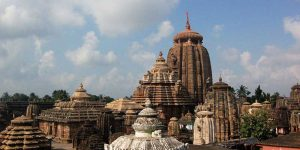 Lord Jagannath Temple in Puri, Orissa