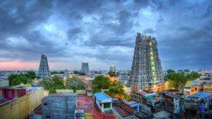 Meenakshi Temple in Madurai, Tamil Nadu