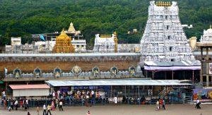 Venkateshwara Tirupati Balaji in Andhra Pradesh
