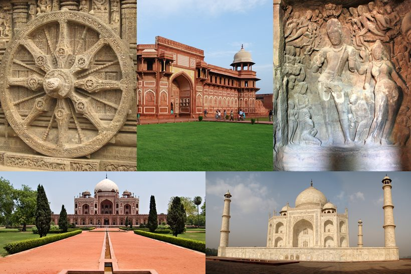 Top 10 haritage sites in india