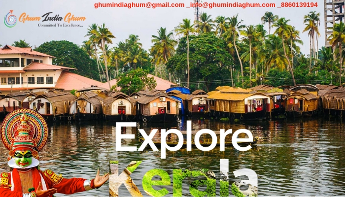 Explore famous places in kerala with ghum india ghum